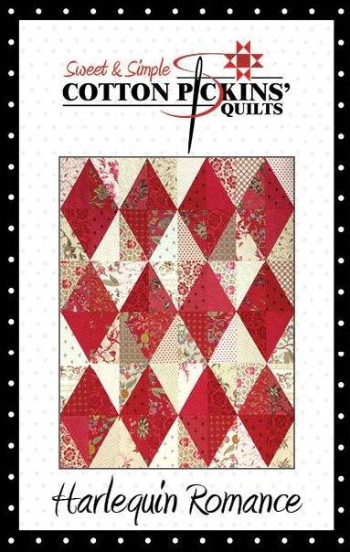 Harlequin Romance  Quilt Pattern