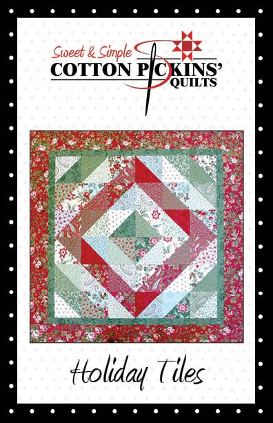 Holiday Tiles Quilt Pattern