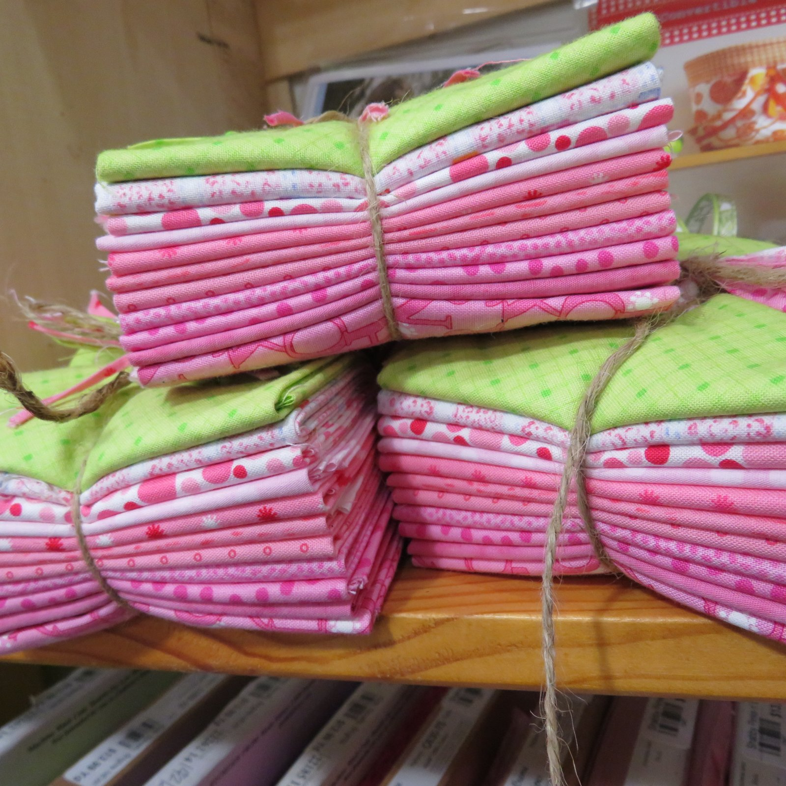 Baby Pinks - 11 FQ's