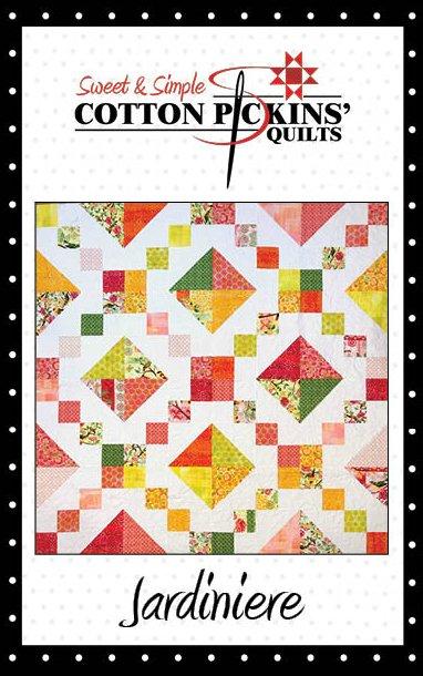 Jardiniere Quilt Pattern