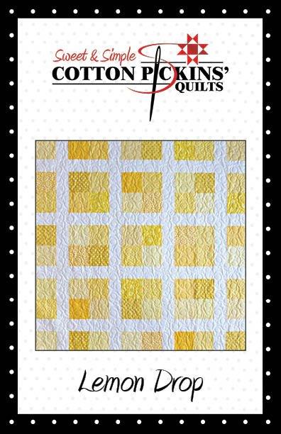 Lemon Drop Quilt Pattern - Digital Download