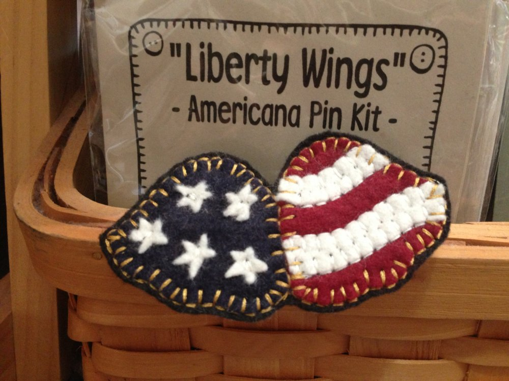 Liberty Wings Pin Kit