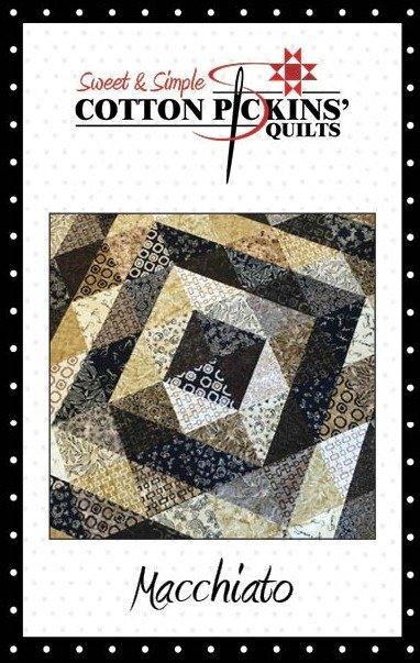 Macchiato Quilt Pattern