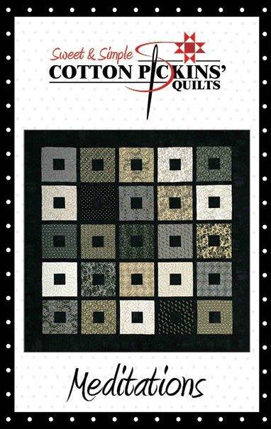 Meditations Quilt Pattern