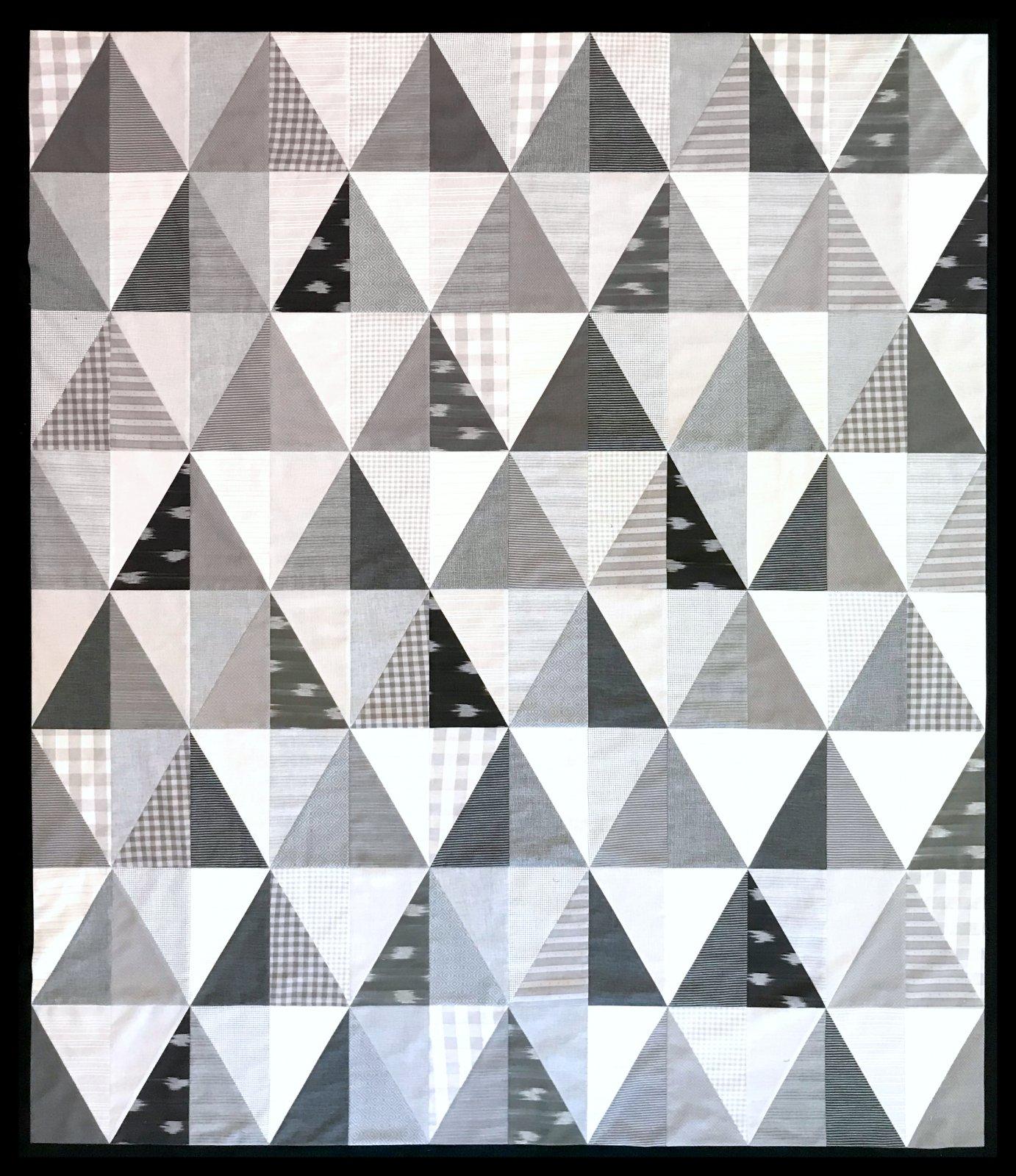 Modern Geometric Quilt Kit