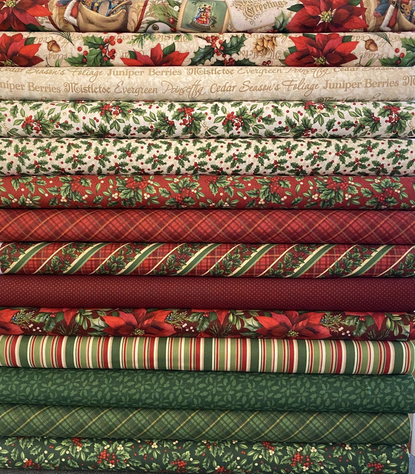 Old Time Christmas - 14 Fat Quarters