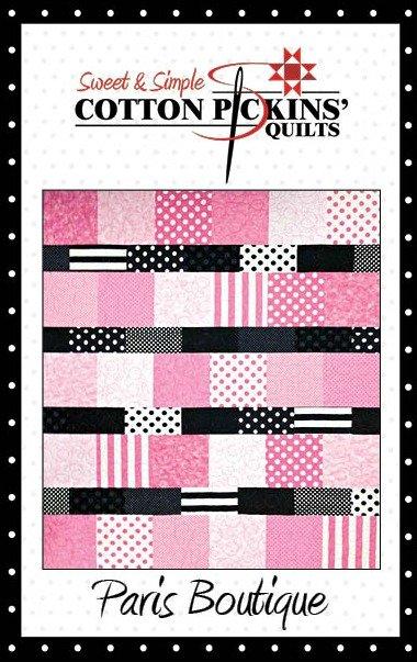Paris Boutique Quilt Pattern