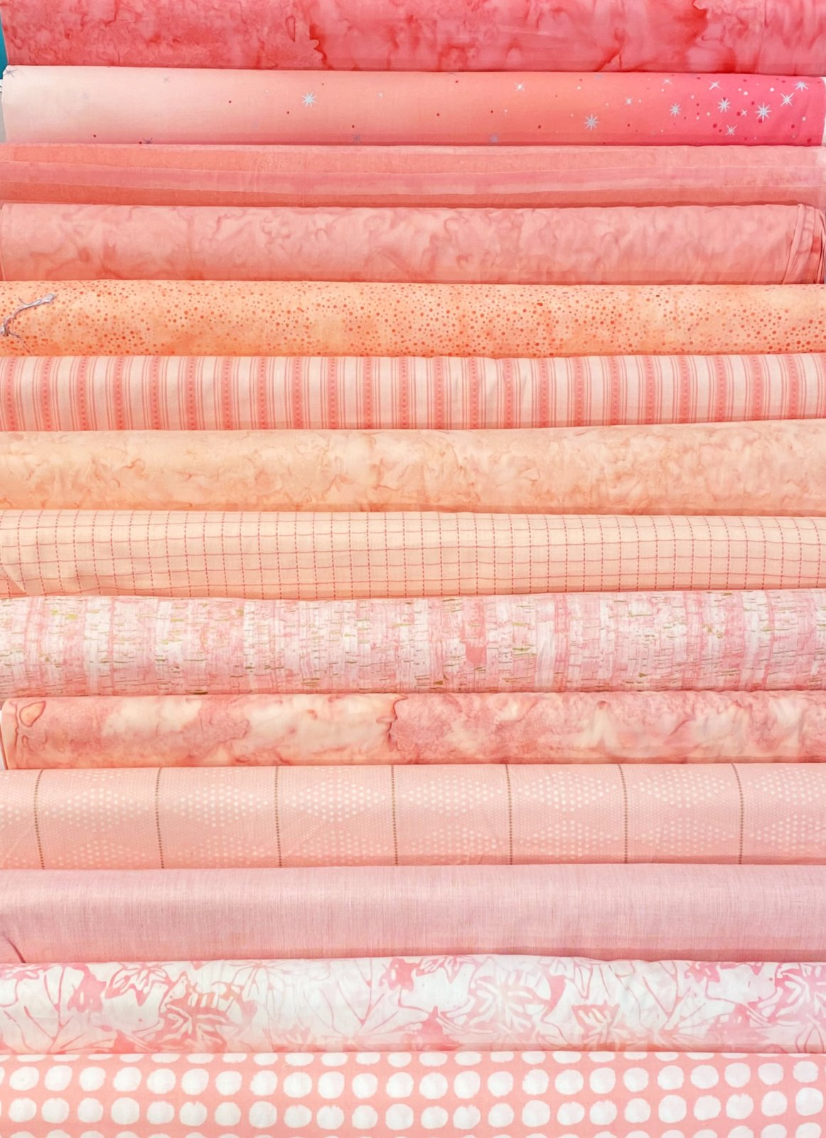 Peaches and Blush - 14 Fat Quarters