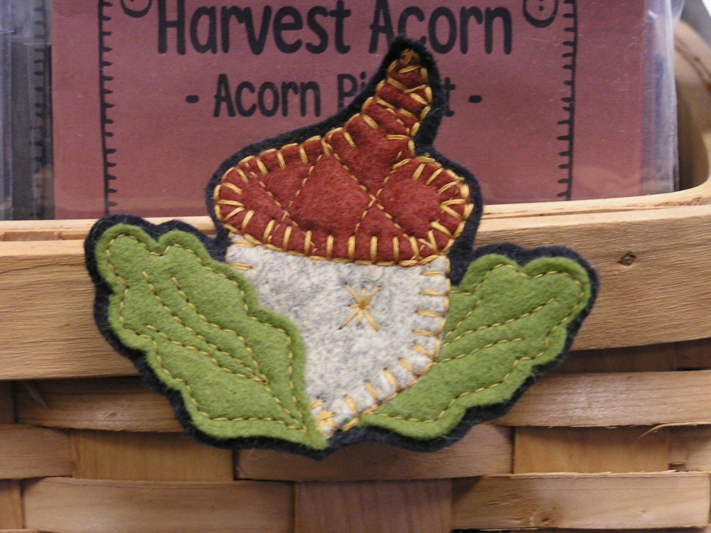 Harvest Acorn Pin Pattern - Digital Download