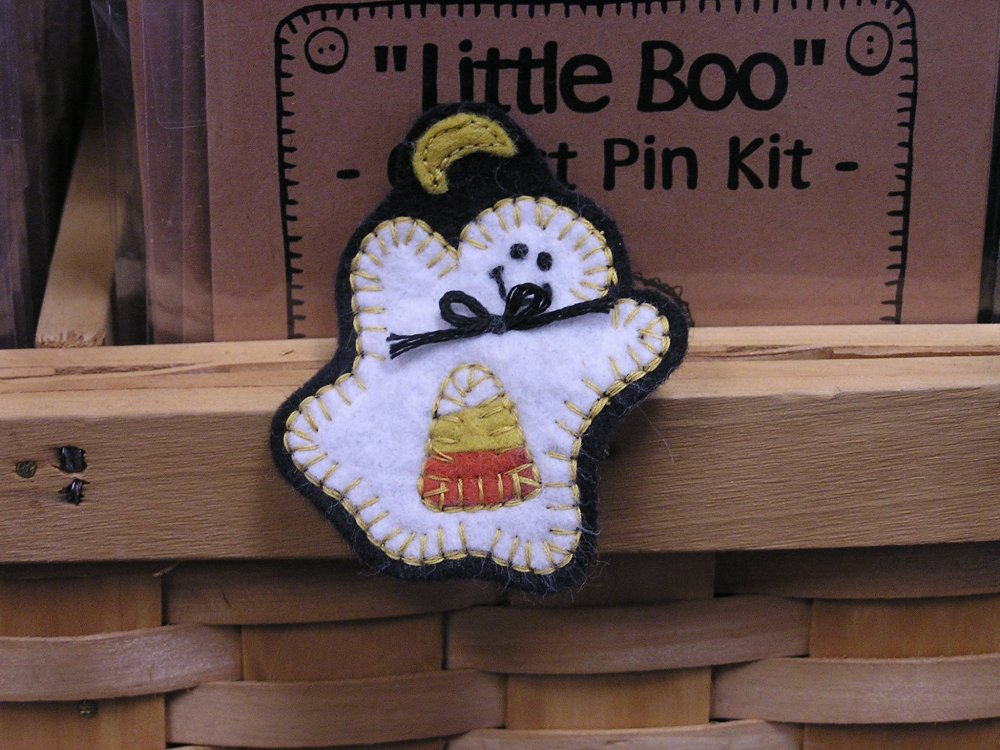 Little Boo Pin Pattern - Digital Download