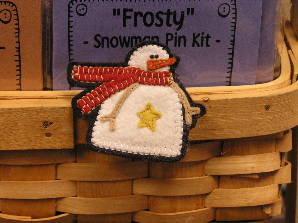 Frosty Snowmand Pin Pattern - Digital Download