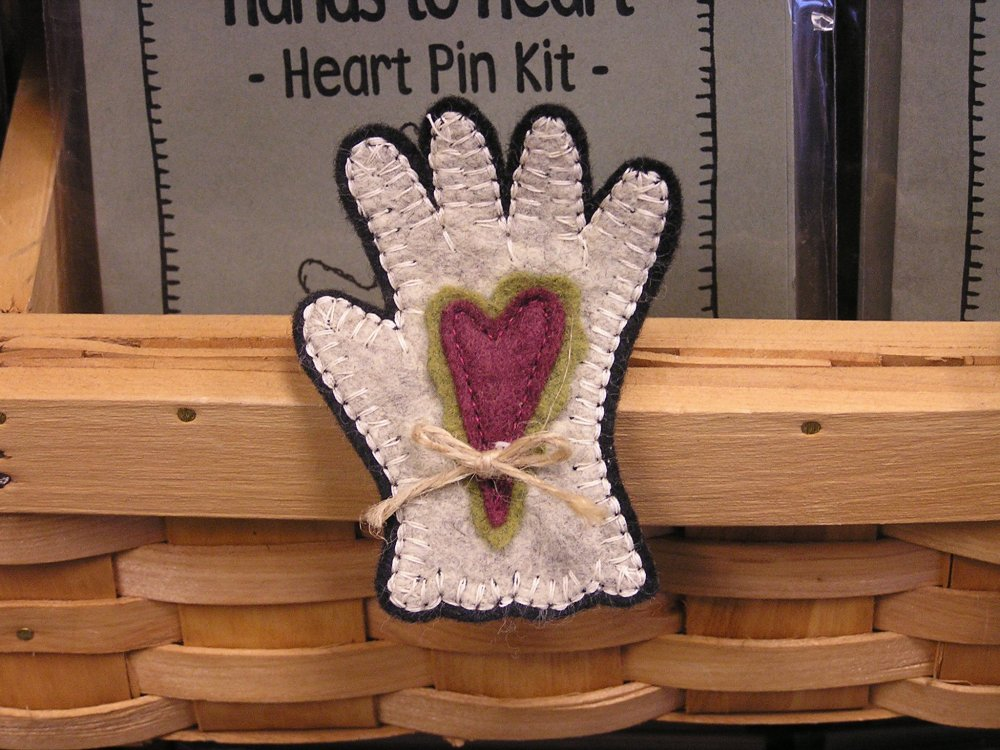 Hands to Heart Pin Kit