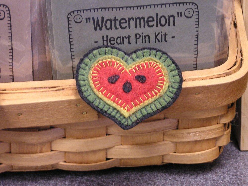 Watermelon Heart Pin Kit