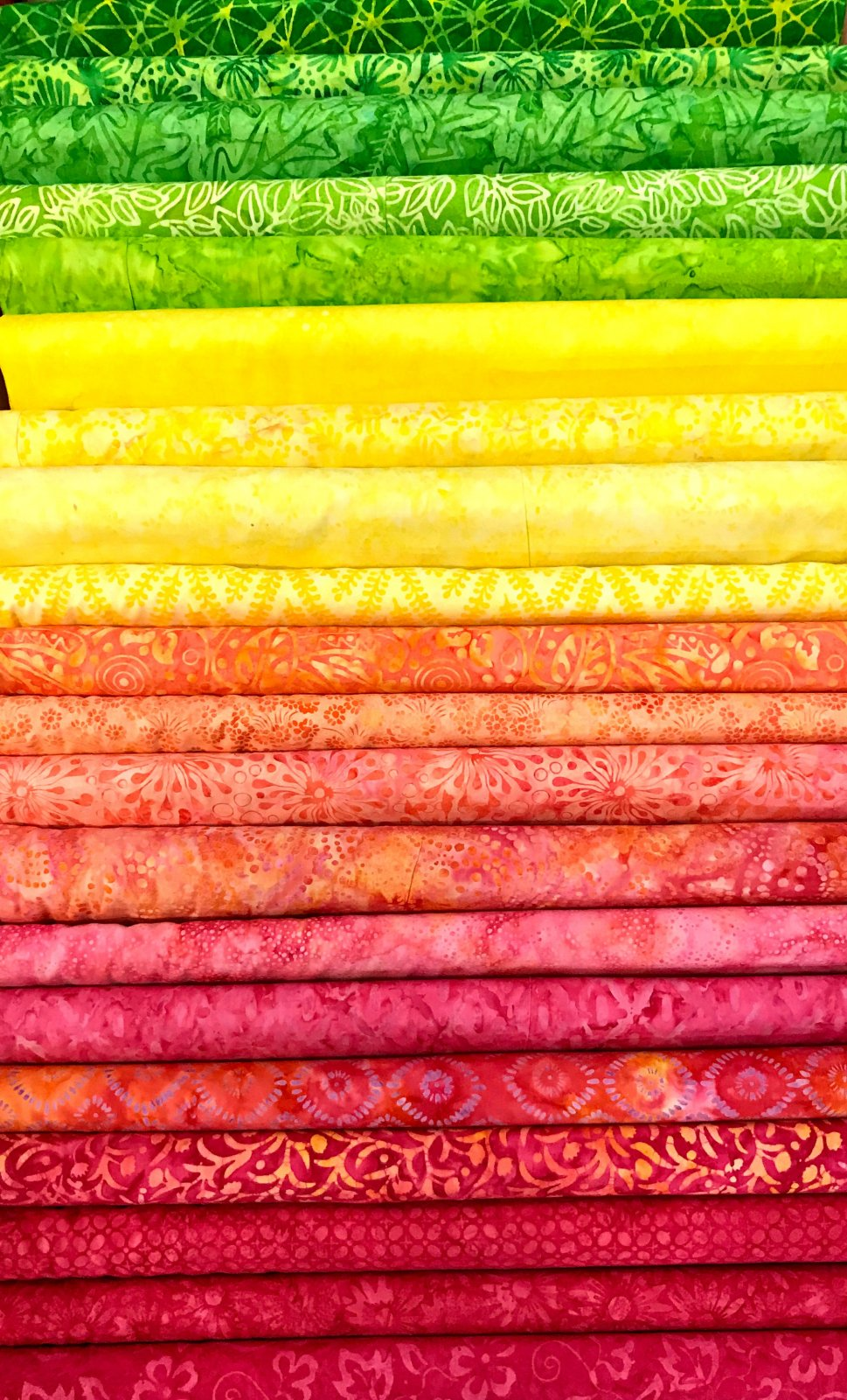 Pineapple Batiks - 20 Fat Quarters