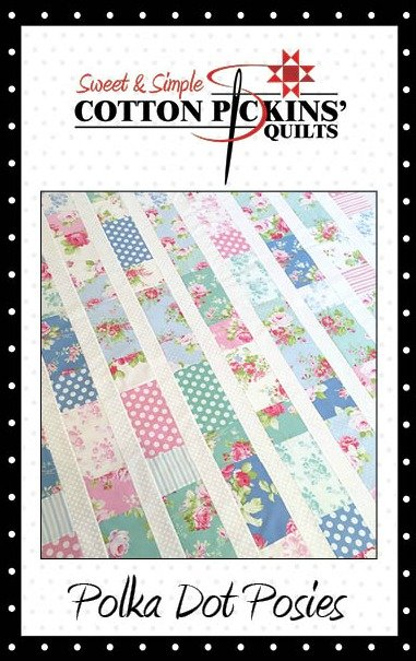 Polka Dot Posies Quilt Pattern