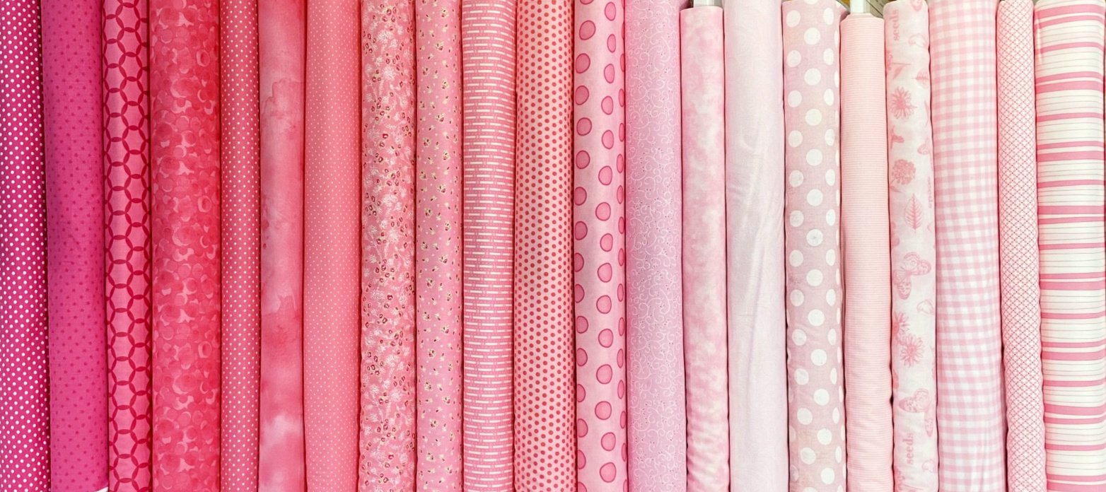 Pretty In Pink - 23 Fat Quarters