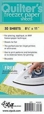Quilter's Freezer Paper