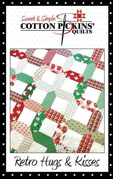 Retro Hugs & Kisses Quilt Pattern