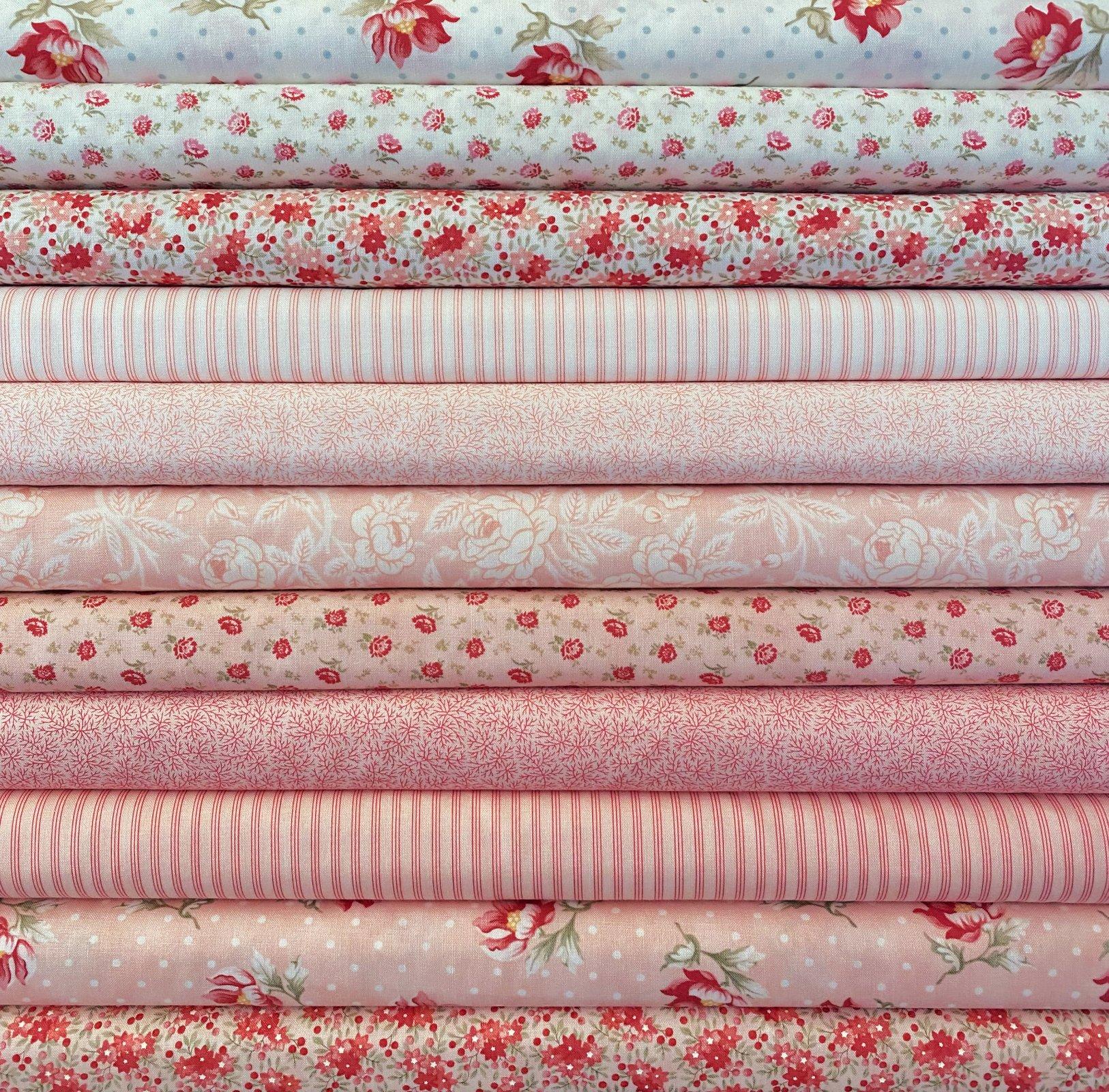 Sanctuary Pinks - 11 Fat Quarters