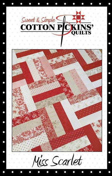 Miss Scarlet Quilt Pattern