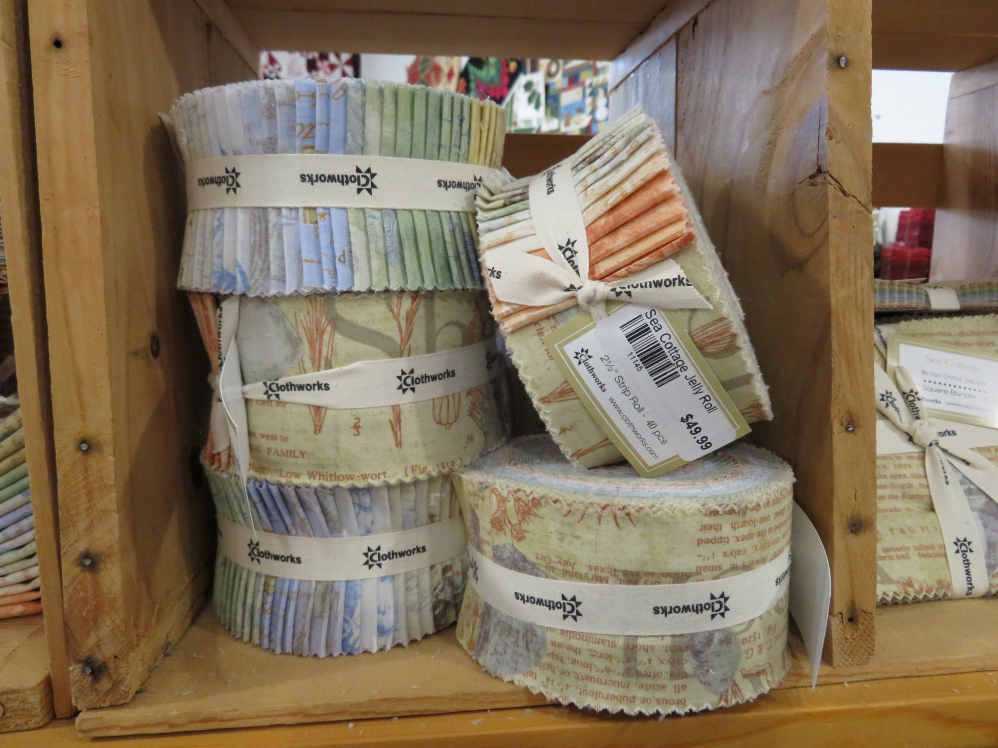 Sea Cottage Jelly Roll