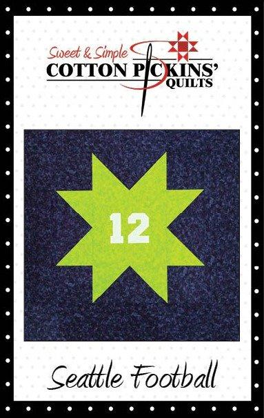 Seattle Football Quilt Pattern