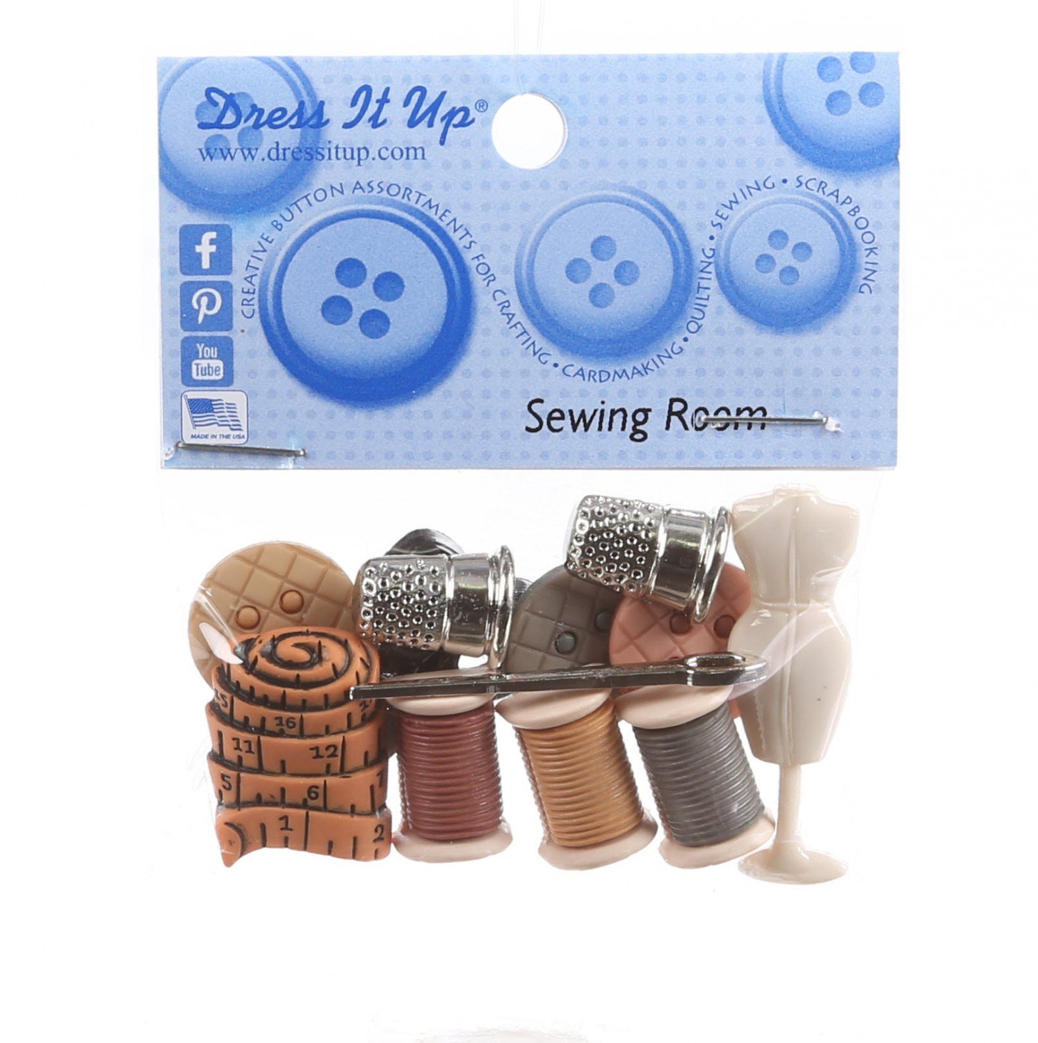 Sewing Room Buttons