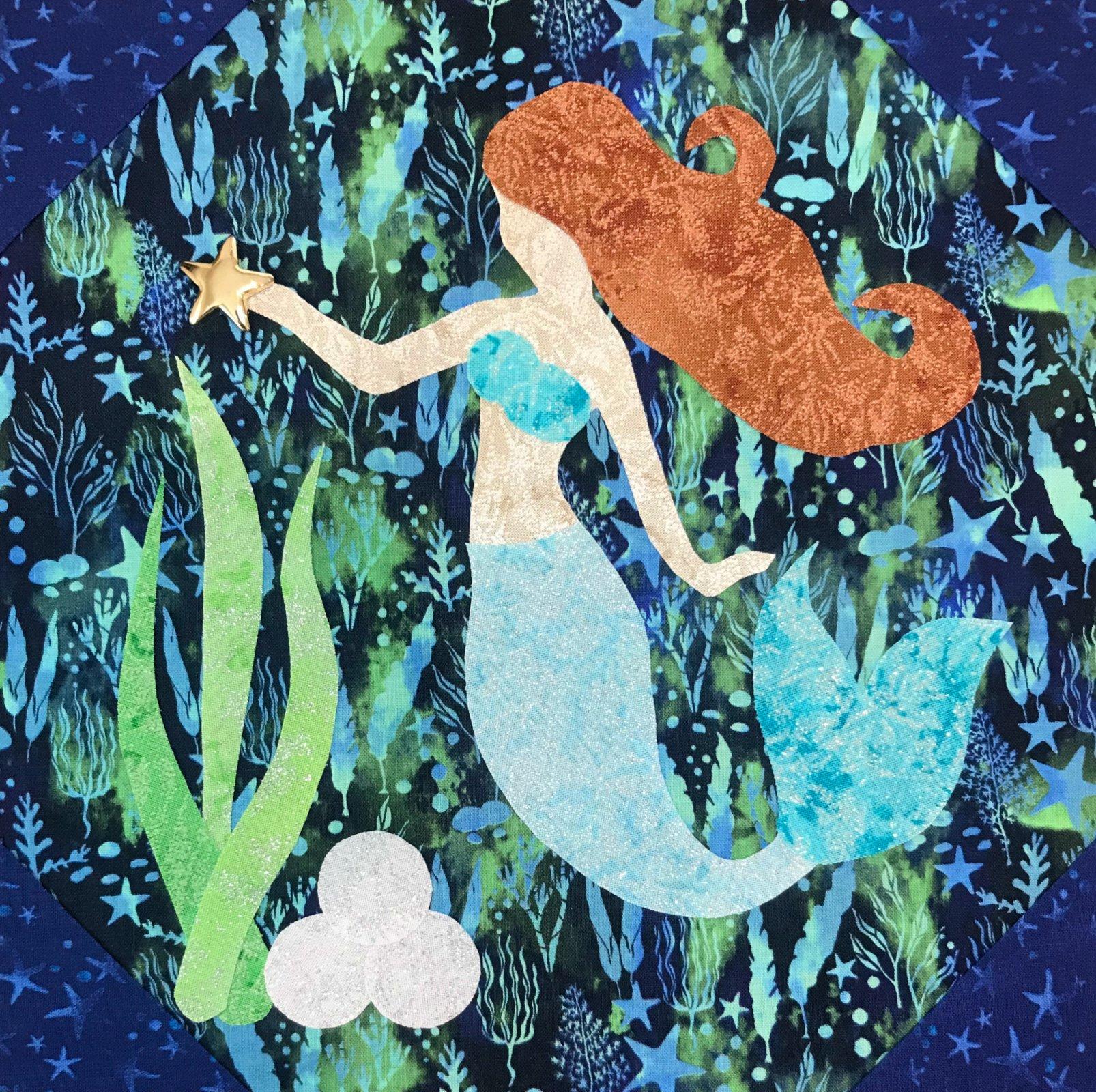 2019 Shop Hop Mermaid Pattern and Kit