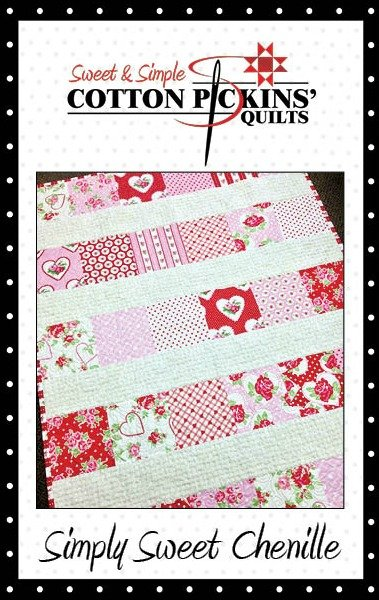 Simply Sweet Chenille Quilt Pattern