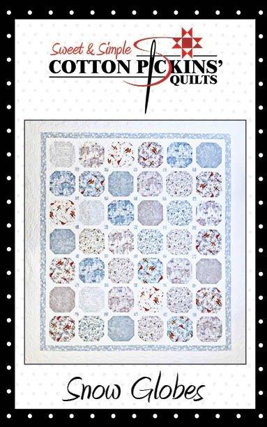 Snow Globes Quilt Pattern