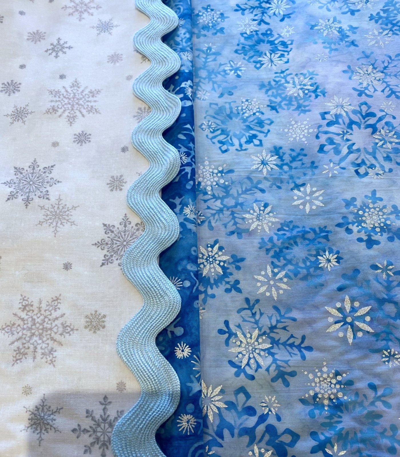 Winter Blues Tablerunner Kit