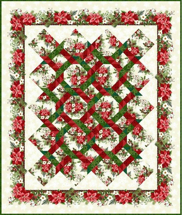 Winter Twist Quilt Kit