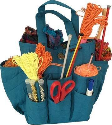 Craft Basket Turquoise