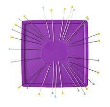 Zirkel Magnetic Pin Cushion Purple