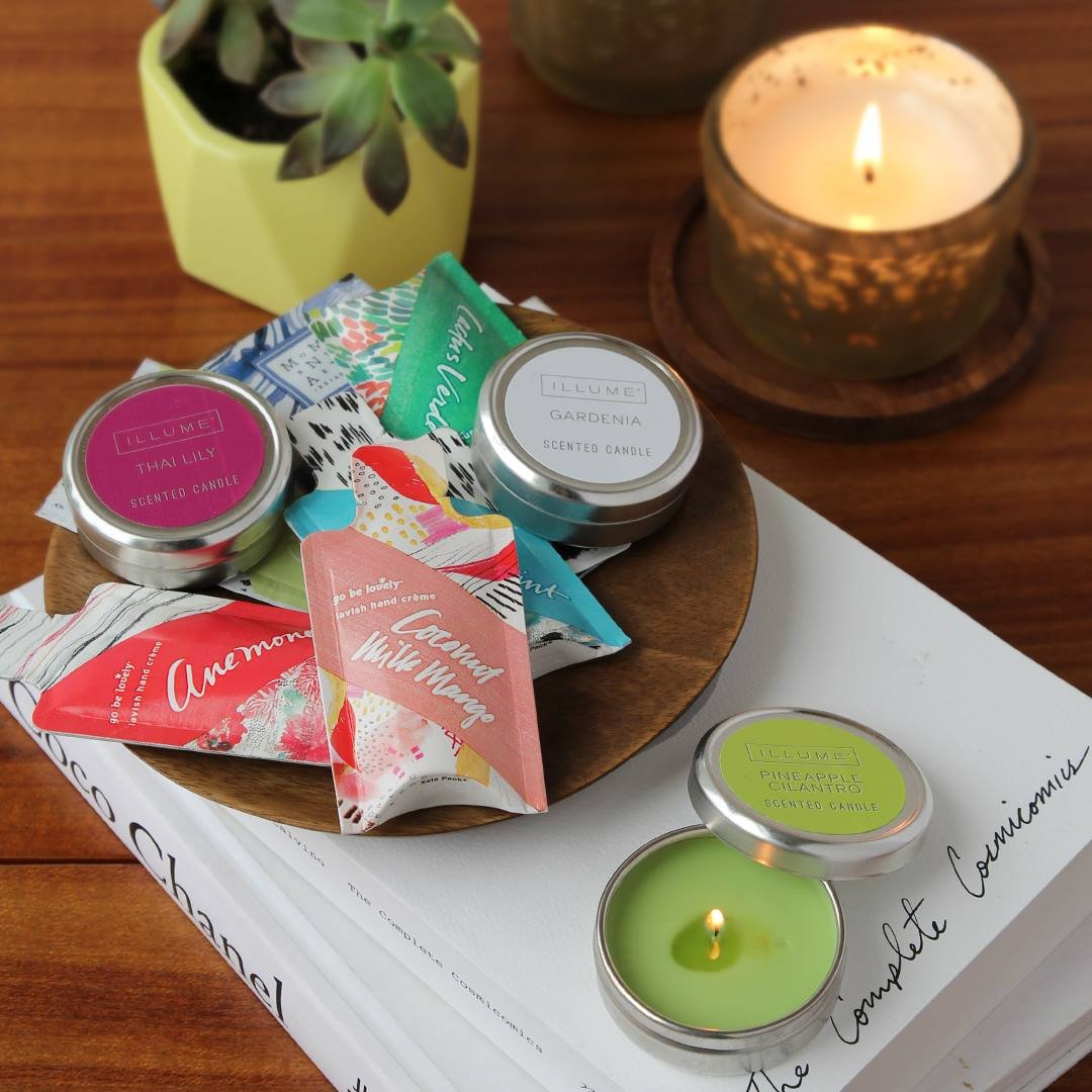 Assorted Sample Hand Cream -  Narrative Collection  ILLUME LOTIONS