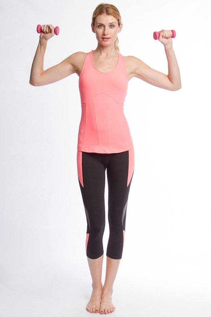 Active Wear Top - Athletic Tank