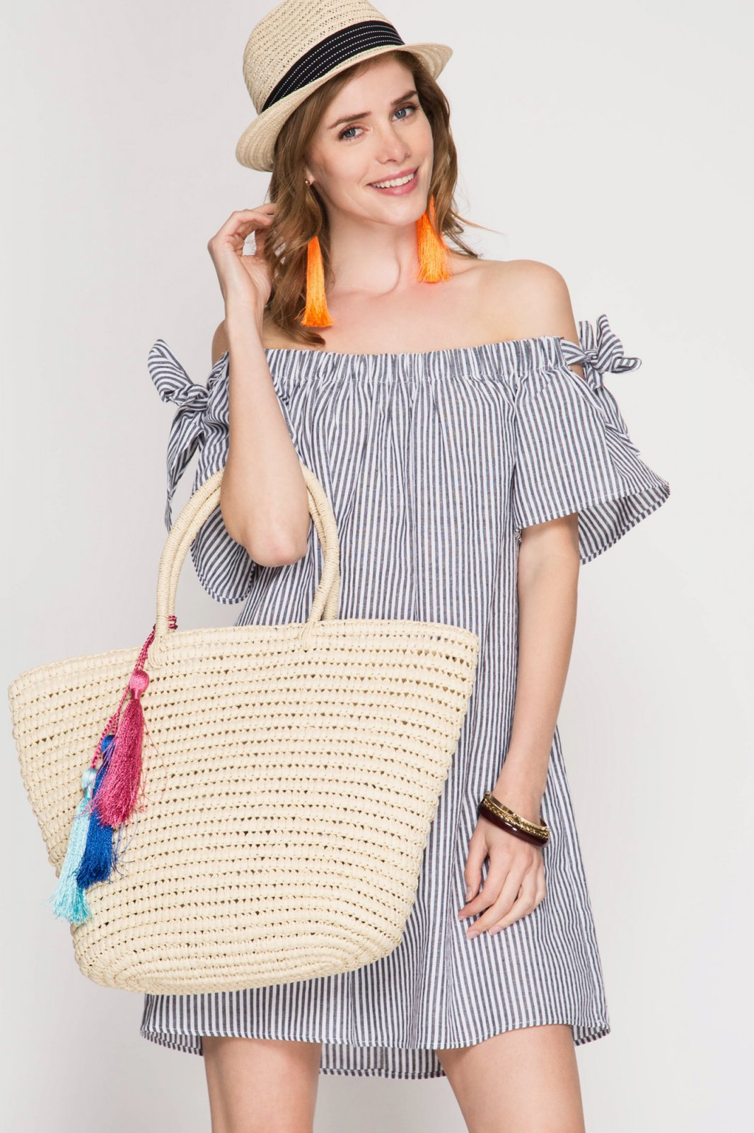 DRESS * Off the Shoulder GREY JR / Ms / Adult PT