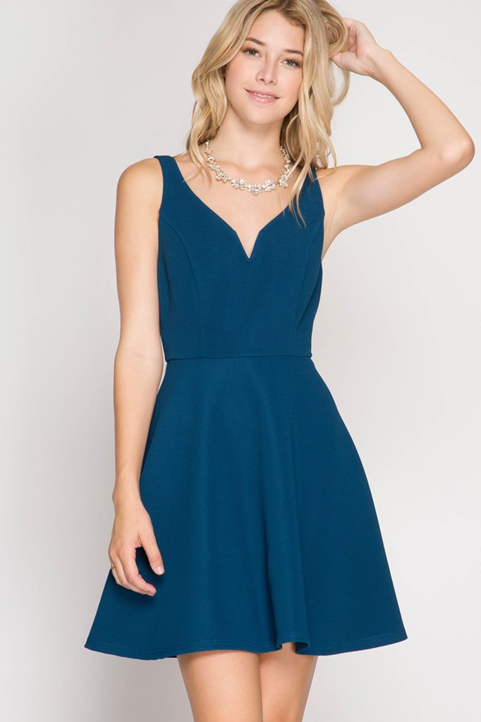 COCKTAIL DRESS Turquoise
