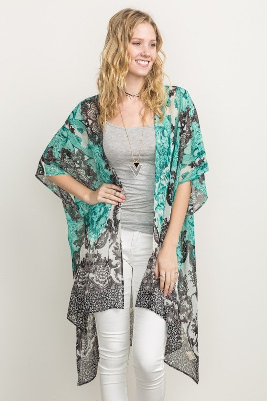 MYSTREE Oversized Kimono - Cover-up * Womens