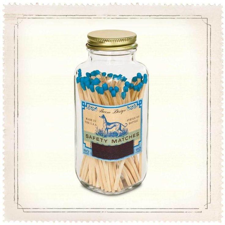 Medium Match Bottle - Blue Dog