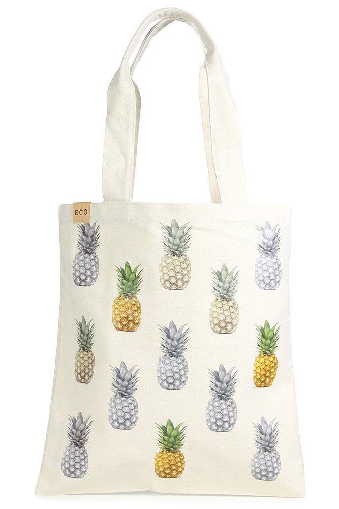 Eco Bag - Pineapples!