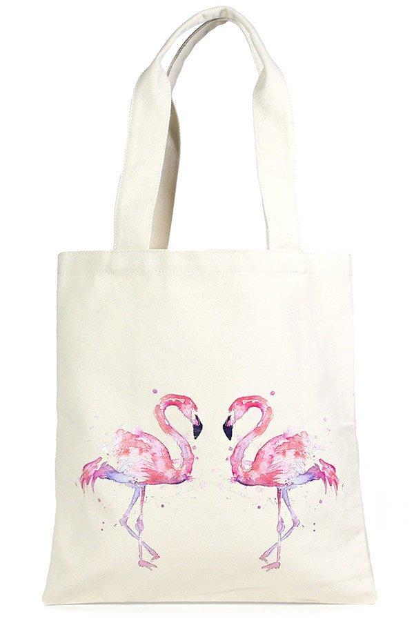 Eco Bag -  Flamingos