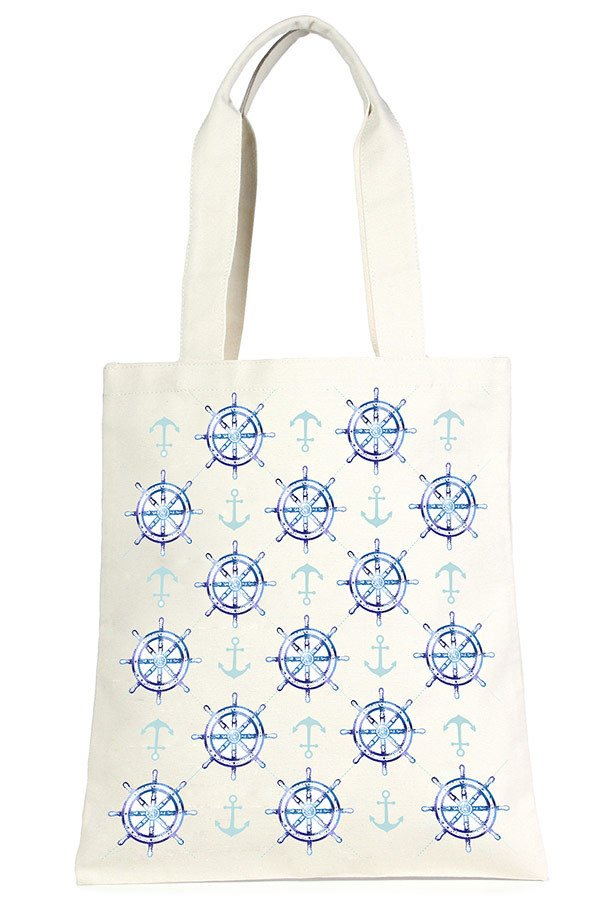 Eco Bag - Anchor & Wheel