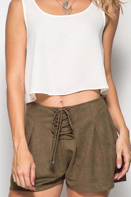 Shorts - Faux Suede Shorts * Jr / Ms / Adult PT