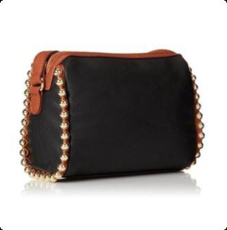 Purse Handbag Big Buddha - Eliad Black Crossbody - SALE