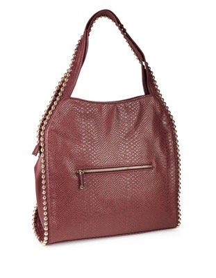 Handbag Big Buddha - Grayson Wine (snake) - SALE
