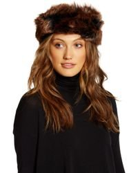 Faux Fur Earmuffs Headband