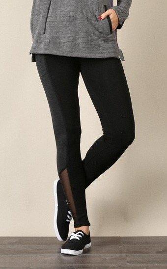 MYSTREE Active Wear - Color Block Yoga Pants * Women's