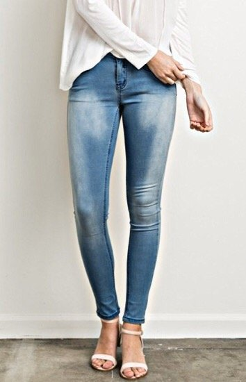 DENIM MYSTREE - Scout Skinny Jeans