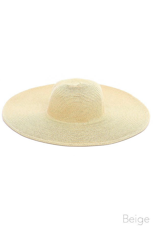 Floppy Hat - BEIGE